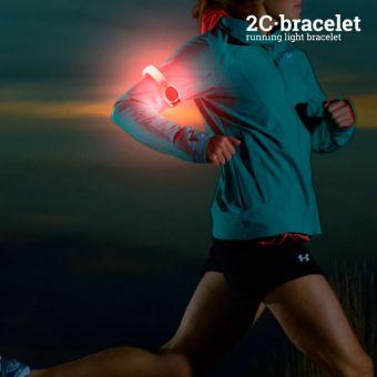Image of   2C Sikkerheds-LED Sportsarmbånd