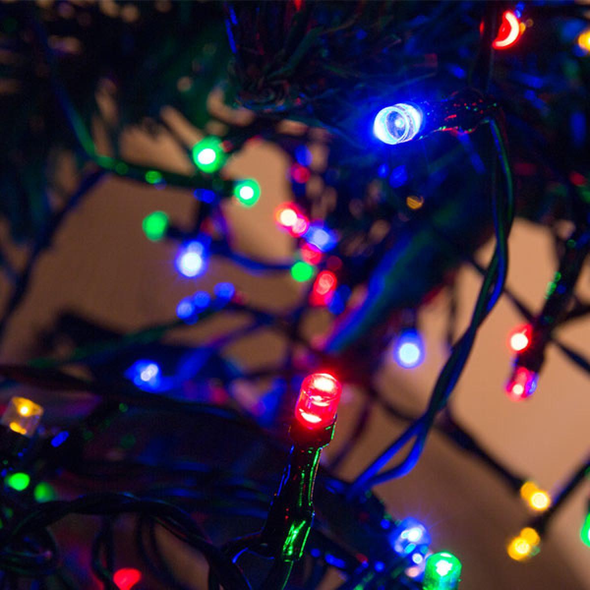 Tilslut julelys til højttalere