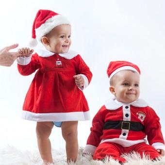 Image of   Santa Claus Kostume Børn - Sex: Dreng