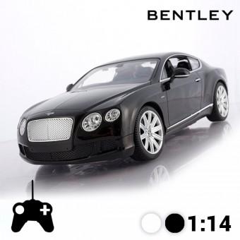 Image of   Bentley Continental GT Fjernstyret Bil - Farve: Sort