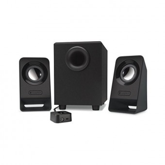 Image of   Multimedie-højtalere Logitech Z213 2.1 60W Subwoofer 200 mV Sort