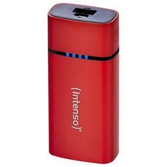 Image of   Batteri INTENSO 7320526 5200 mAh USB Micro USB Rød
