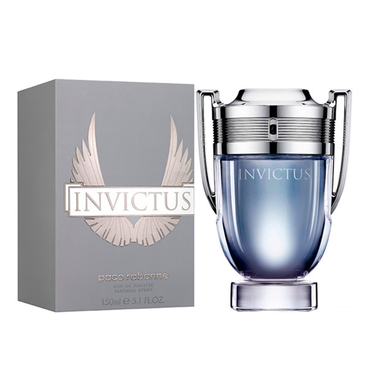 Herreparfume Invictus Paco Rabanne EDT - Kapacitet: 100 ml