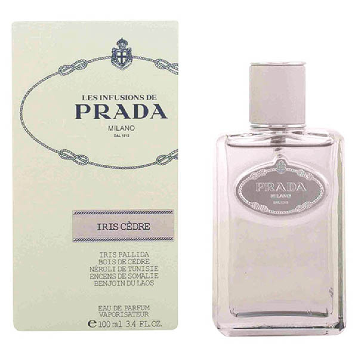 Herreparfume Iris Cedre Prada EDT - Kapacitet: 100 ml