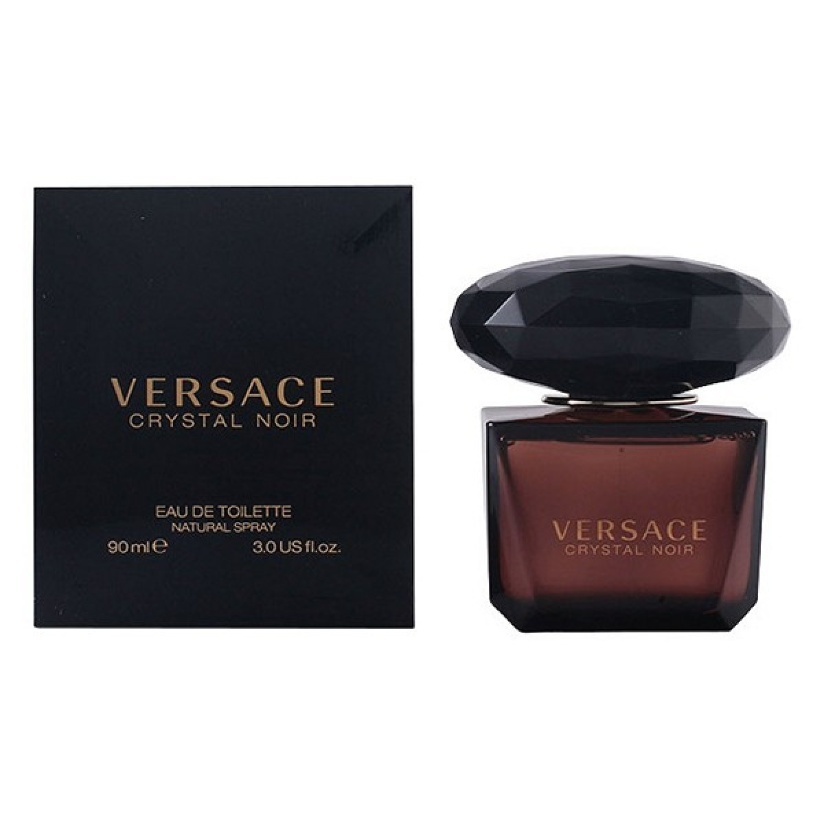 Dameparfume Crystal Noir Versace EDT - Kapacitet: 50 ml