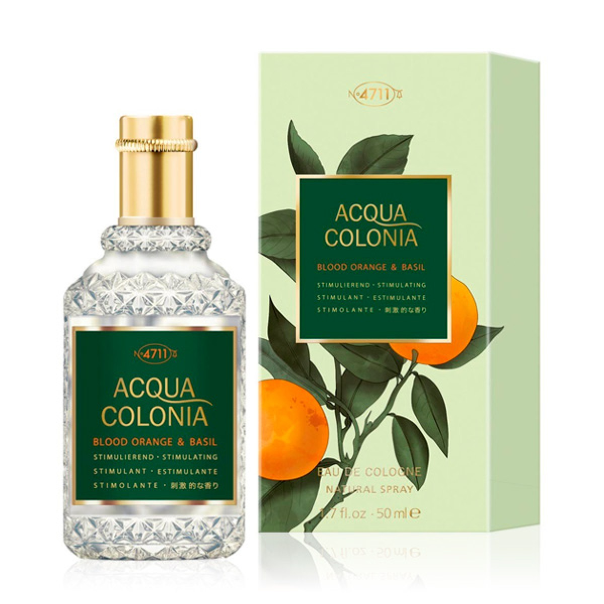 Unisex parfume Acqua 4711 EDC Blood Orange