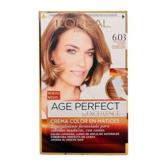 Permanent Anti-Age Farve Excellence Age Perfect L\'Oreal Expert Professionnel Mørk blond