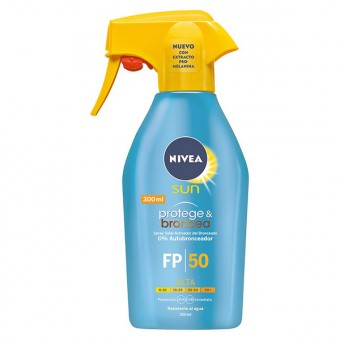 Solcreme spray Protege