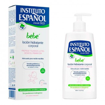 Hydrerende Baby Lotion Instituto Español (300 ml)