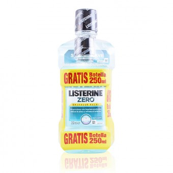 Mundskyllevand Zero 0% Listerine - Kapacitet: 500 ml