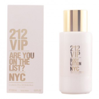 Fugtgivende bodylotion 212 Vip Carolina Herrera (200 ml)