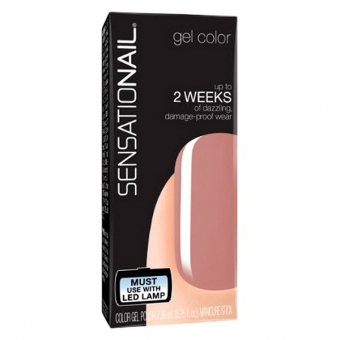 neglelak Sensationail Fing\'Rs - Farve: Barely There - 7,39 ml