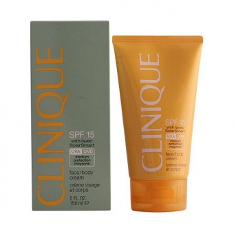 Solcreme Sun Facebody Clinique SPF 15 (150 ml)