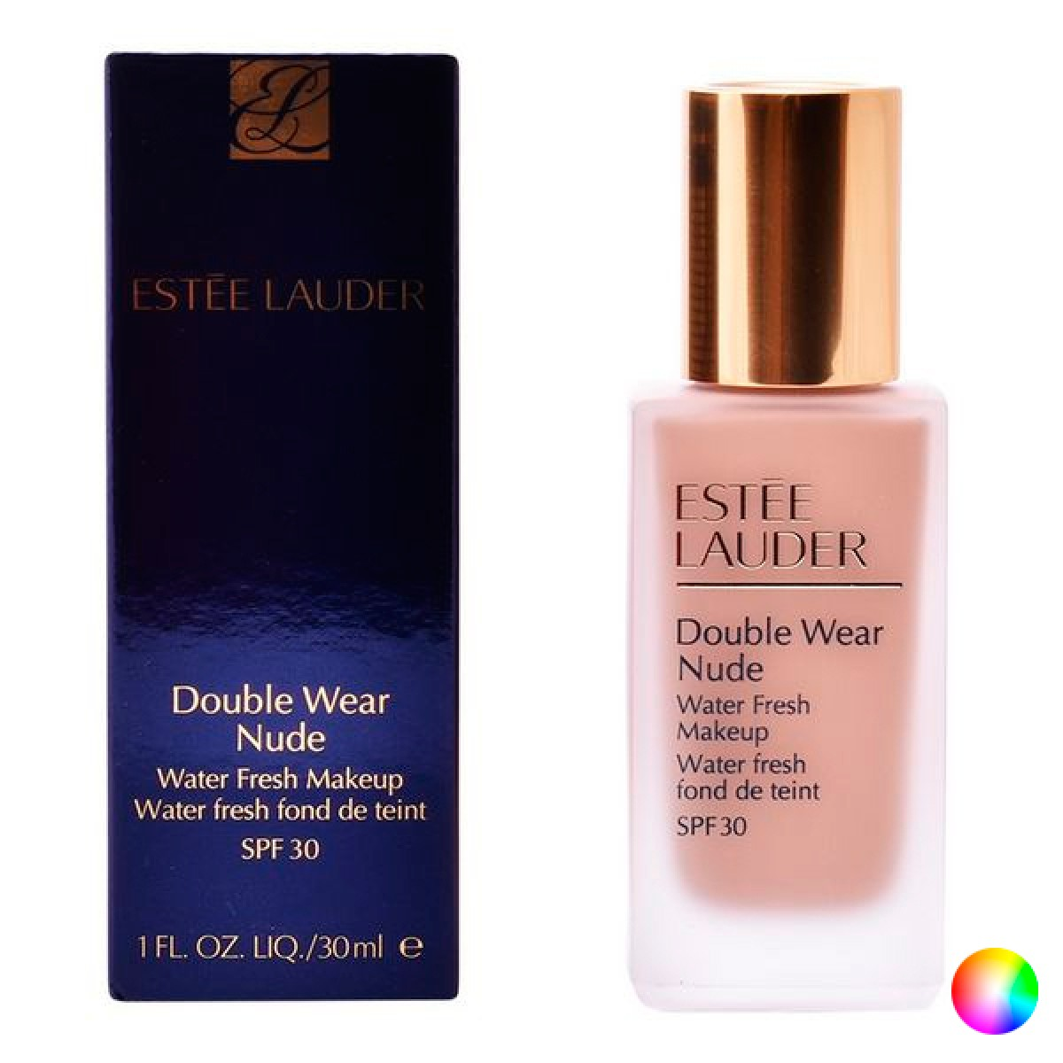 Flydende Makeup Foundation Double Wear Nude Estee Lauder - Farve: 2C2 - almond 30 ml