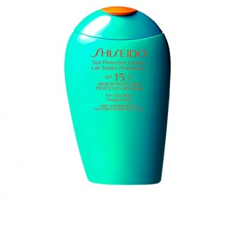 Solcreme til ansigtet Sun Protection Anti Aging Shiseido Spf 15 (150 ml)