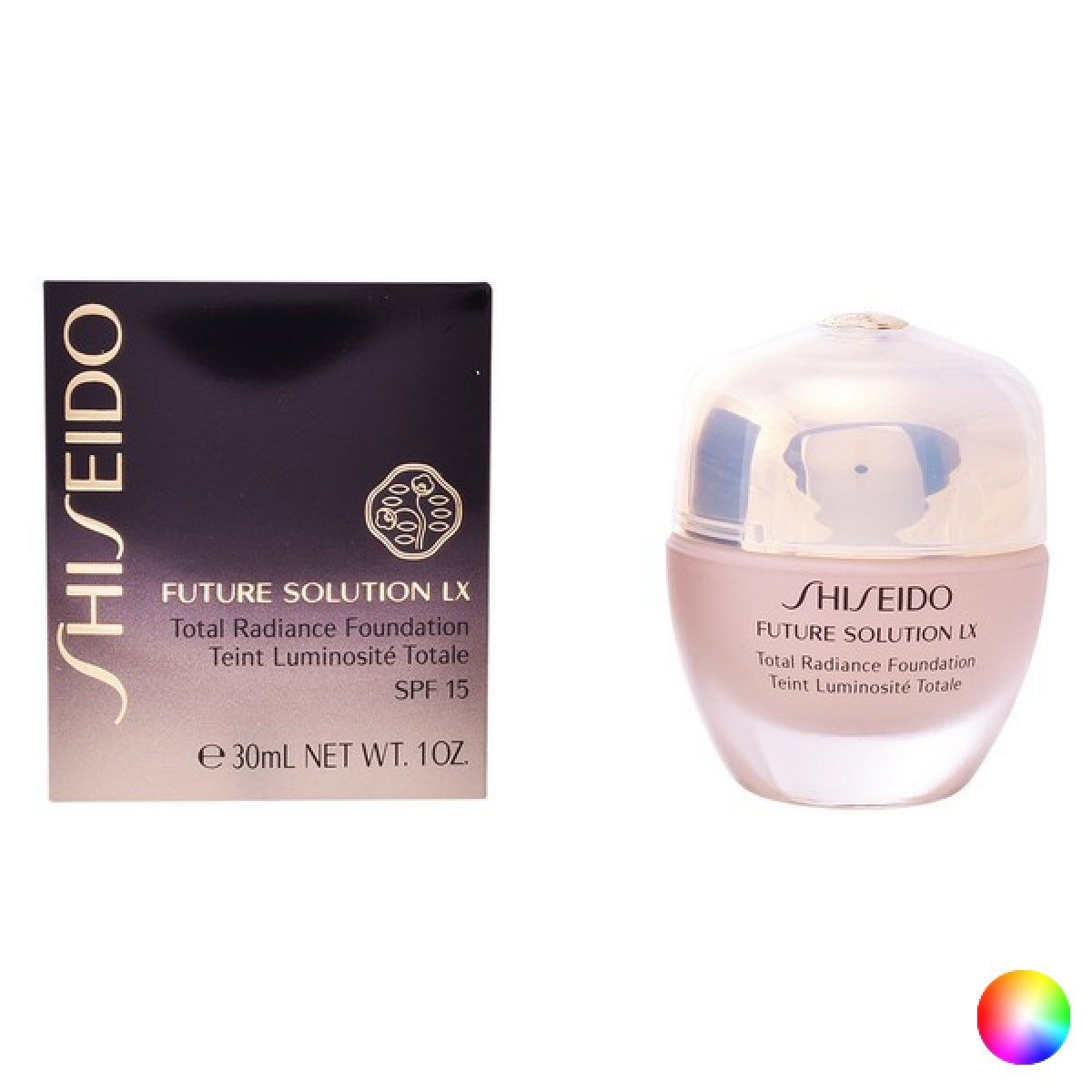 Flydende Makeup Future Solution Lx Shiseido - Farve: 4 - Neutral