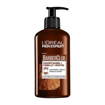 Shampoo til Skæg Men Expert Barber Club L\'Oreal Make Up (200 ml)