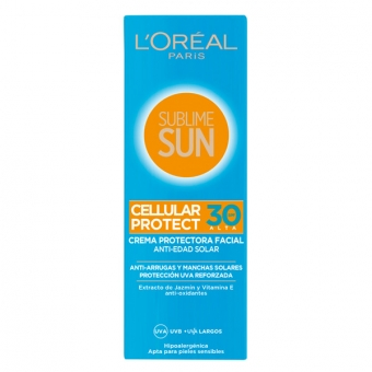 Solcreme Sublime Sun L\'Oreal Make Up Spf 30 (75 ml)