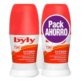 Roll on deodorant Extrem Byly (2 uds)