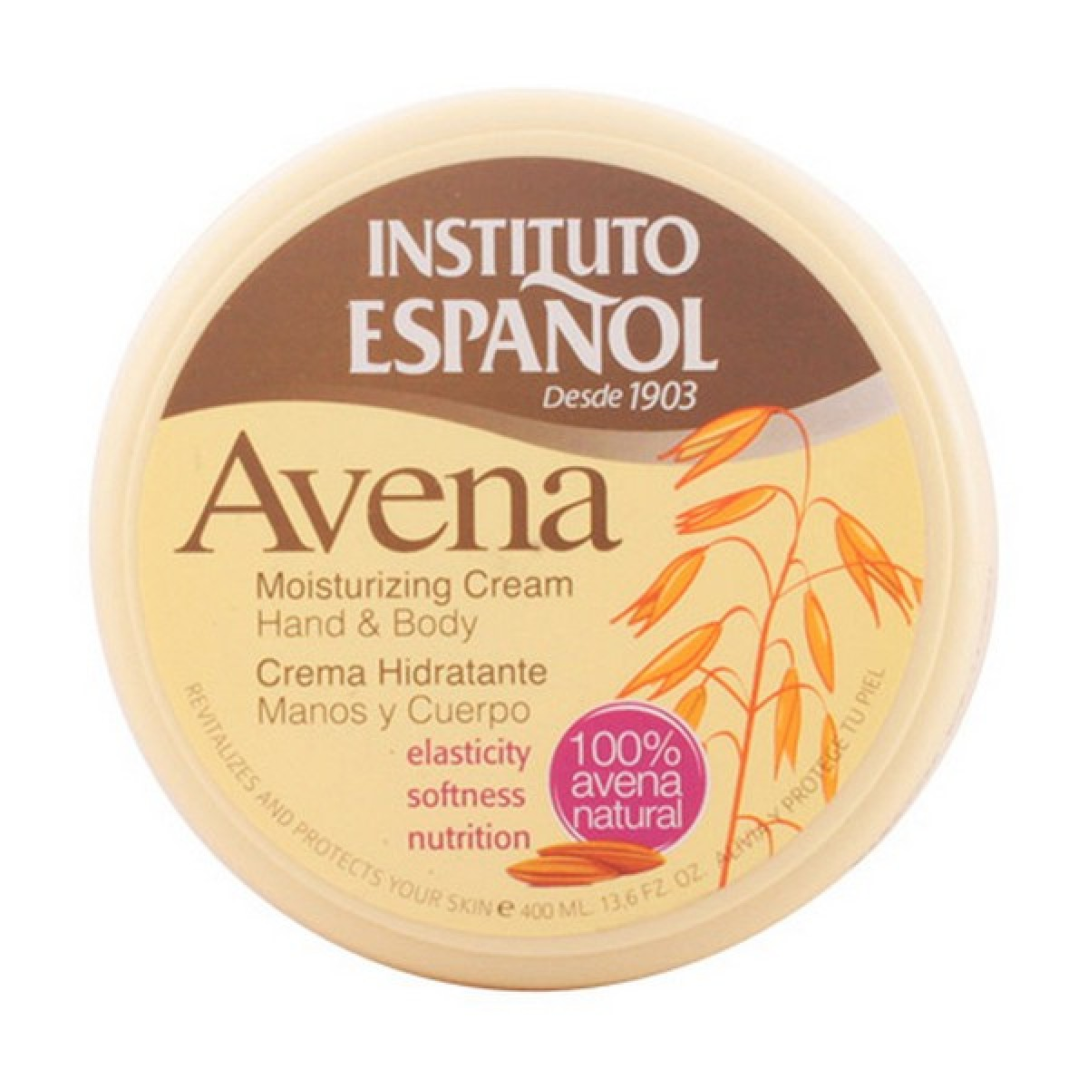 Fugtgivende bodylotion Avena Instituto Español (400 ml)