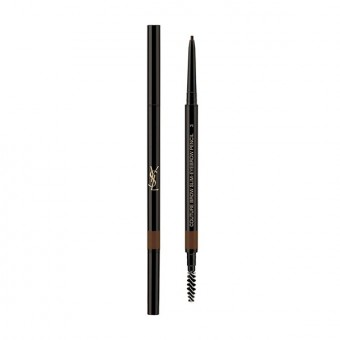 Eyebrow Fixing Gel Couture Brown Slim Yves Saint Laurent - Farve: 02 - blond cendré