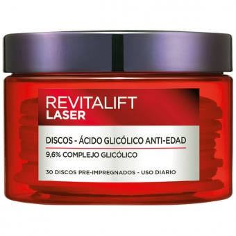 Anti-plet og anti-age behandling Revitalift Laser L\'Oreal Make Up (30 uds)
