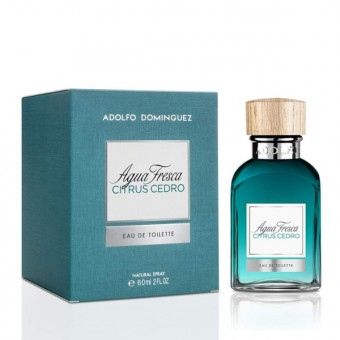 Herreparfume Agua Fresca Citrus Cedro Adolfo Dominguez EDT - Kapacitet: 230 ml