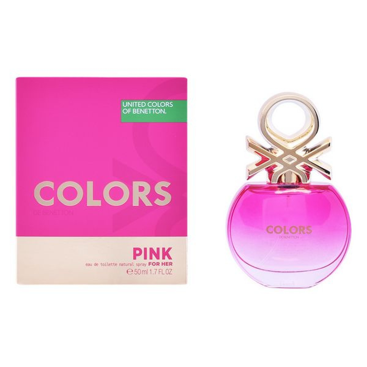 Dameparfume Colors Pink Benetton EDT (50 ml)