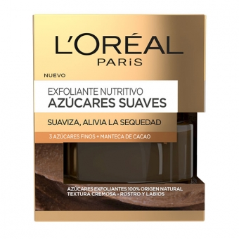 Nærende skrubbecreme Azúcares Suaves L\'Oreal Make Up (50 ml)