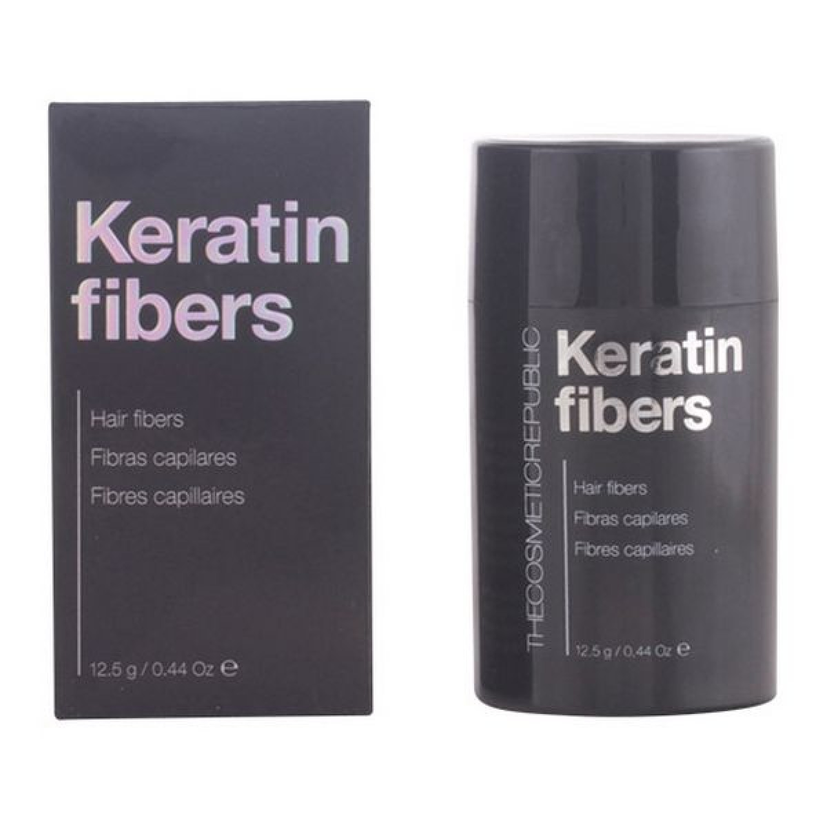 Anti-hårtab behandling Keratin Fibers The Cosmetic Republic - Farve: dark blond - 12,5 g