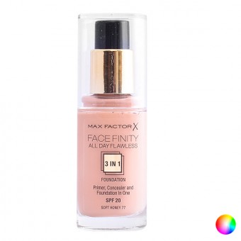 Flydende makeup foundation Face Finity 3 In 1 Max Factor - Farve: 35 - pearl