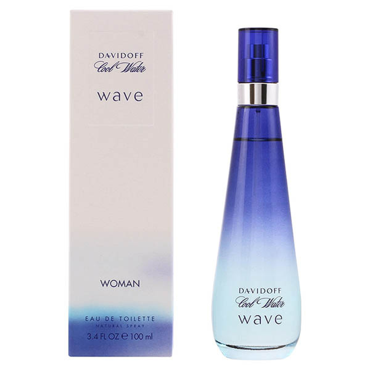 Feminin Spray Cool Water Wave Davidoff STOCK 13210 EDT EDT - Kapacitet: 125 ml
