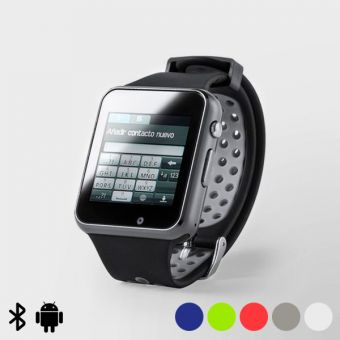 "Smartwatch 1,54"" LCD Bluetooth 145970 - Farve: Lysegrøn"