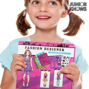 Image of   Mode Notesbog til Børn - Design: Nail Studio