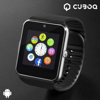 Image of   CuboQ Titanium Smartwatch