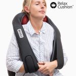 Pro Relax Cushion Shiatsu Luksus Massageapparat