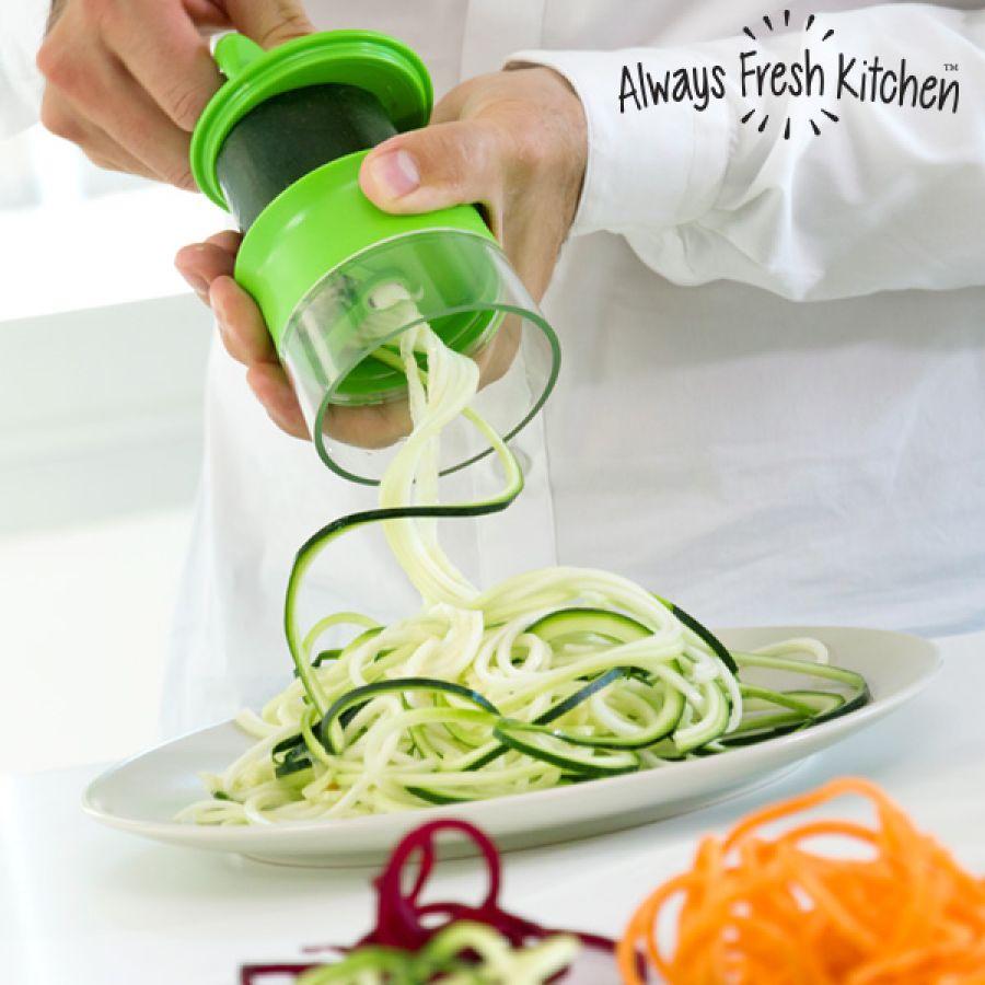 Mini Grøntsags Spiral slicer | Spis sundt året rundt