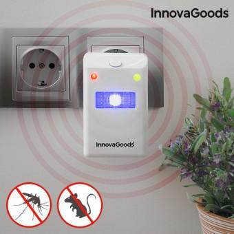 Image of   InnovaGoods Middel mod Insekter og Gnavere med LED Lys