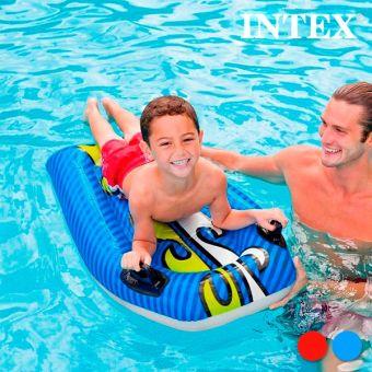 Image of   Intex Oppustelig Surfbræt til Børn - Farve: Blå
