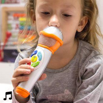 Image of   Håndholdt Mikrofon med Lys og Lyd til Børn