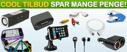 Se vores Cool Tilbud på gadgets, pakketilbud, apple tilbehør og meget mere!