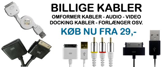 Billige iPhone 4 Audio Video Dock Kabler