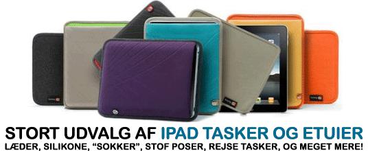 Stort udvalg i gode og fede iPad etuier og tasker