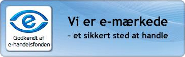Vi er E-m�rkede - et sikkert sted at handle