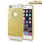 Shiny bling diva cover iPhone 6 Plus / 6S Plus (guld)