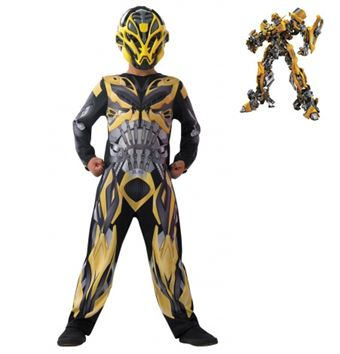 Image of   Bumble Bee Kostume - Transformers 4