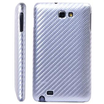 Image of   Samsung Note carbon Cover (Sølv)