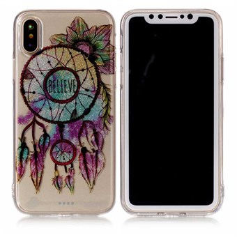 Image of   Nice Design Cover i blød TPU plast til iPhone X - Dream Catcher