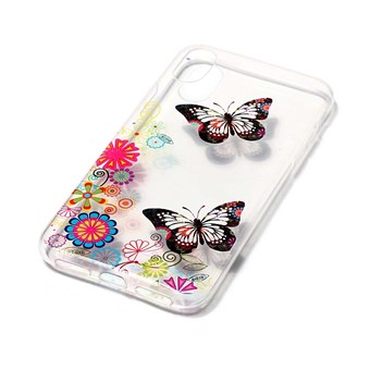 Image of   Nice Design Cover i blød TPU plast til iPhone X - Butterflies