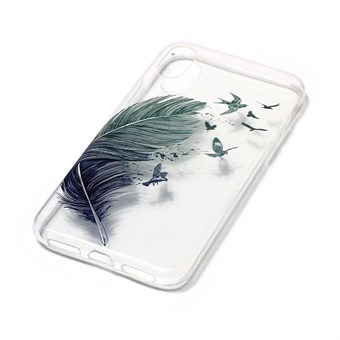 Image of   Nice Design Cover i blød TPU plast til iPhone X - Birds